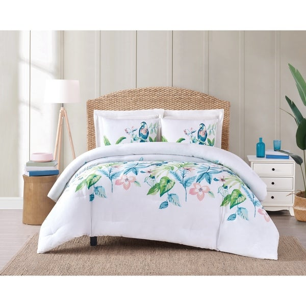 Porch & Den Griffin Tropical 3-piece Comforter Set