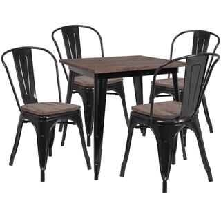 31.5SQ Metal Table Set