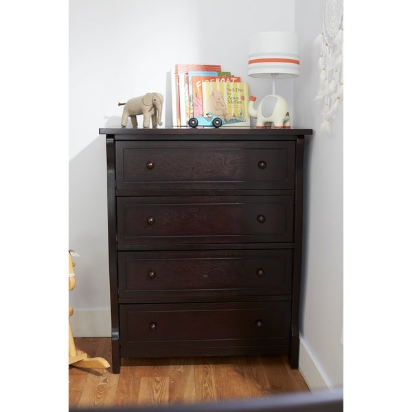 Sorelle Berkley 4 Drawer Chest Espresso