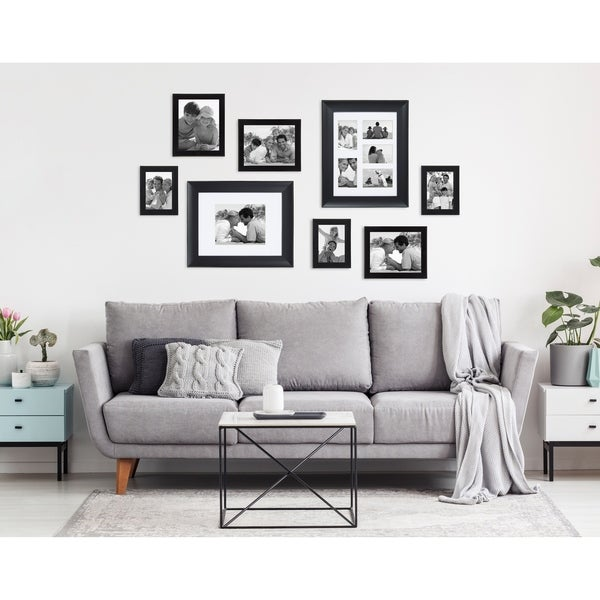 DesignOvation Scoop Matted Collage Picture Frame