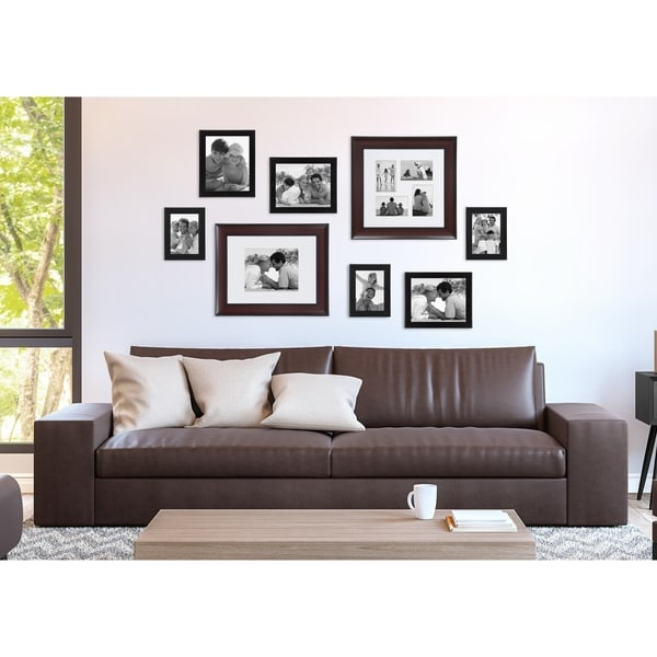 DesignOvation Scoop 14-inch Matted Collage Picture Frame (4, 4-inch x 6-inch photos)