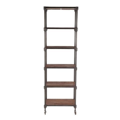 Paxton 25-Inch Wide Industrial Bookshelf