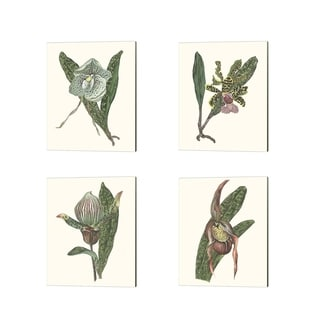 Melissa Wang 'Orchid Display' Canvas Art (Set of 4)