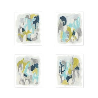 June Erica Vess 'Arc Lights' Canvas Art (Set of 4)
