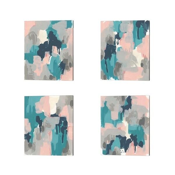 June Erica Vess 'Sky Song' Canvas Art (Set of 4)