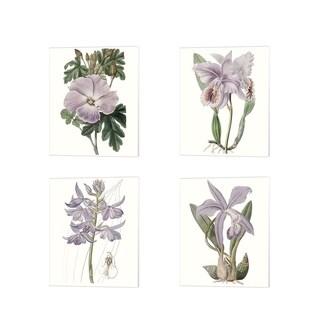 Edwards 'Lavender Beauties' Canvas Art (Set of 4)