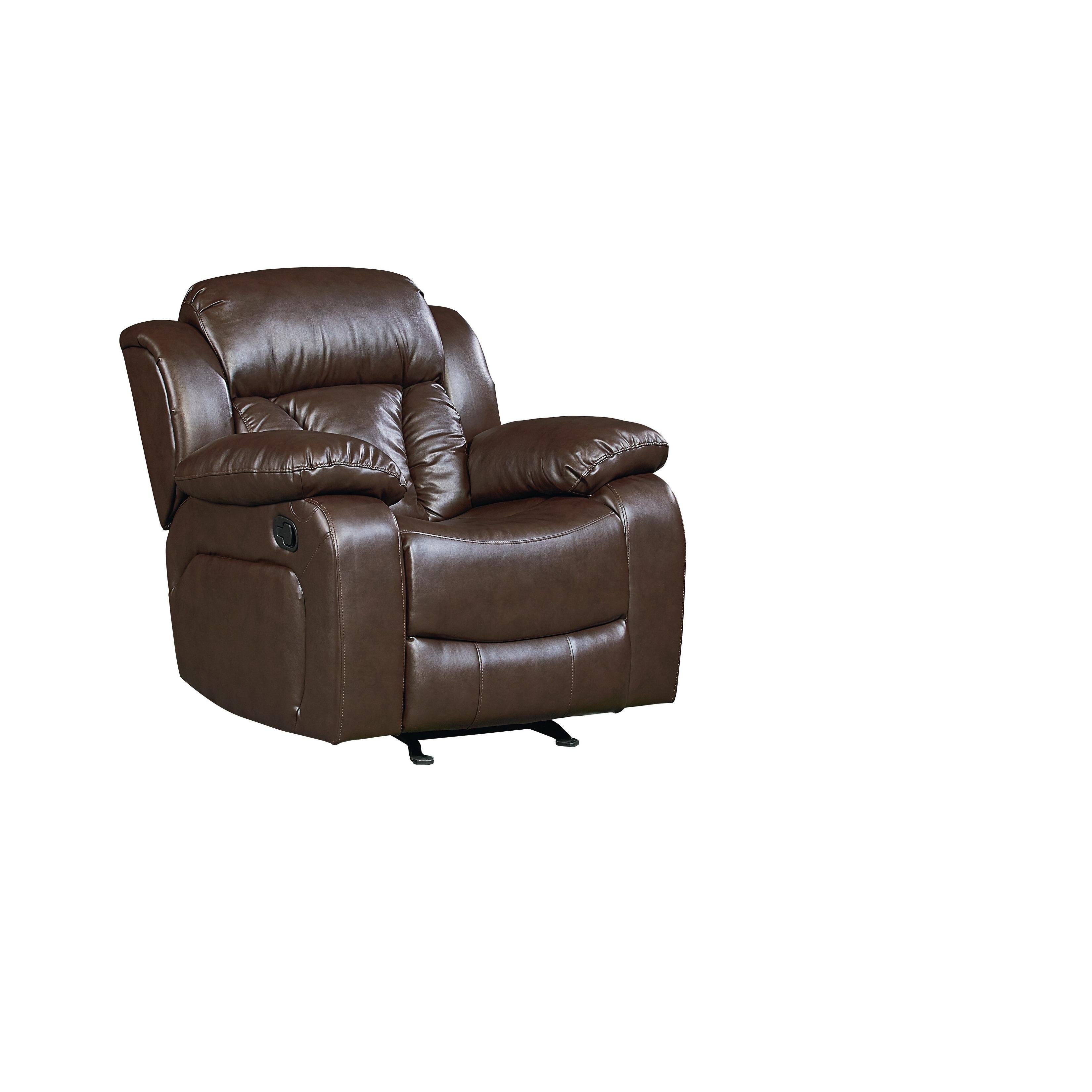 Standard Furniture Northshore Manual Motion Glider Recliner, Brown