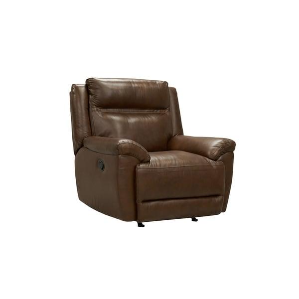 Standard Furniture Manual Motion Leather Recliner