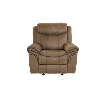 Standard Furniture Knoxville Brown Glider Recliner