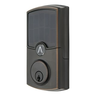 Link to Array By Hampton  ARRAY Barrington  Tuscan Bronze  Zinc  Electronic Deadbolt Similar Items in Doors & Windows