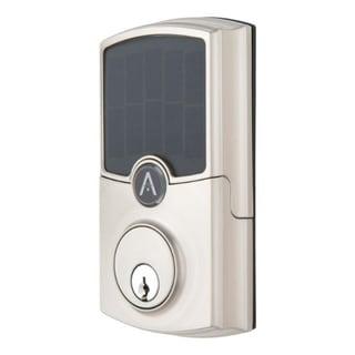 Link to Array By Hampton  ARRAY Barrington  Satin Nickel  Zinc  Electronic Deadbolt Similar Items in Doors & Windows