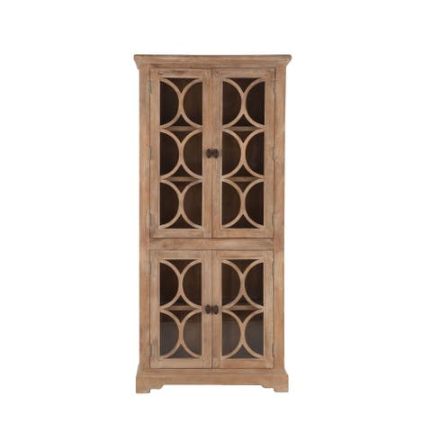 Pengrove 38-Inch Wide Mango Wood Cabinet