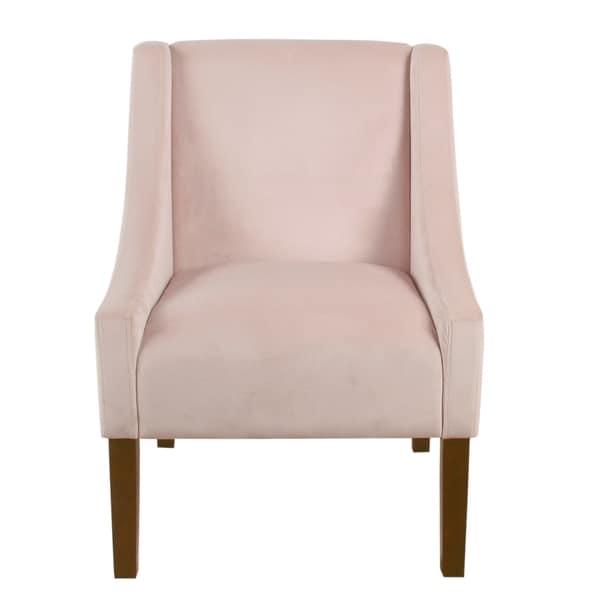 Enjoyable Shop Homepop Modern Swoop Arm Accent Chair On Sale Ships Short Links Chair Design For Home Short Linksinfo