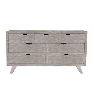 Nottingham 71-Inch Weathered Gray Acacia Wood Dresser
