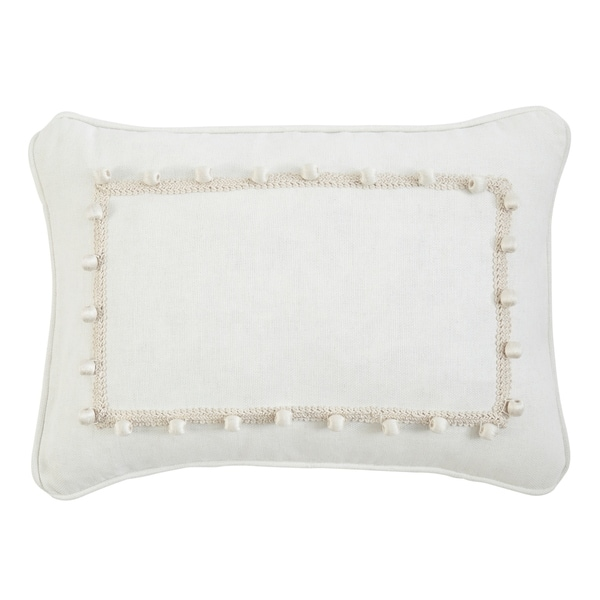 Izabelle Solid throw pillow