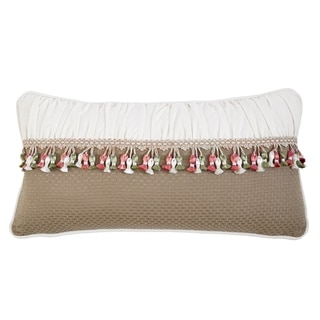 Izabelle Tasseled Throw Pillow