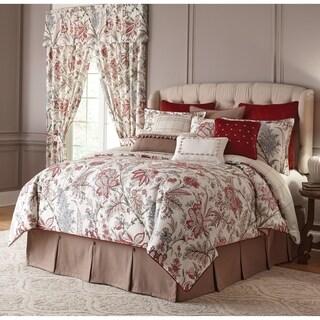 Izabelle Jacobean Floral Queen Comforter Set