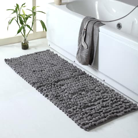 "Chenille Thick Loop Bath Rug 24"" x 60"" - 24 x 60"