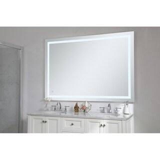 "Avalon 42"" x 60"" Hardwired LED mirror - Silver"