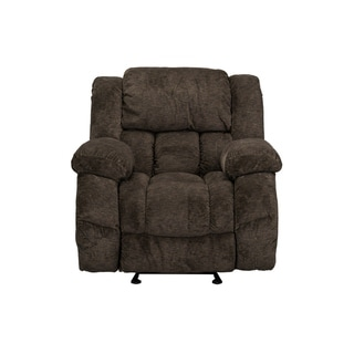 Standard Furniture Seymore Manual Motion Glider Recliner, Brown