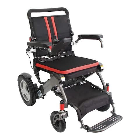 Airline-Friendly Electric Wheelchair with Lithium Battery