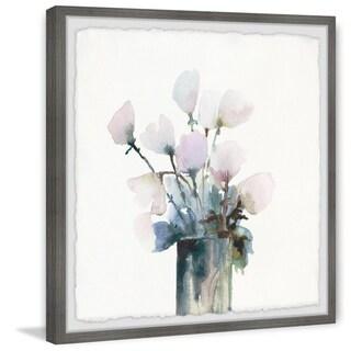 Link to Marmont Hill - Handmade Fresh Flowers Framed Print Similar Items in Art Prints
