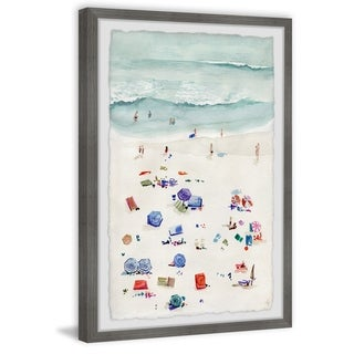 Link to Marmont Hill - Handmade Beach Time Framed Print Similar Items in Art Prints