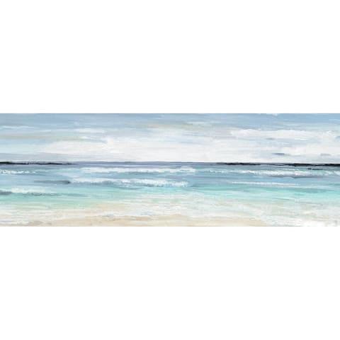 Porch & Den Jacob Beach On' Wrapped Canvas Print