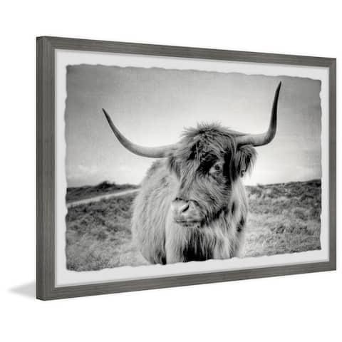 Marmont Hill - Handmade Away from Herd Framed Print