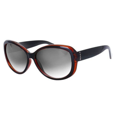 "MLC Eyewear Retro Vintage Fashion 2 Tone Oval Frame Collection ""The Loop"""