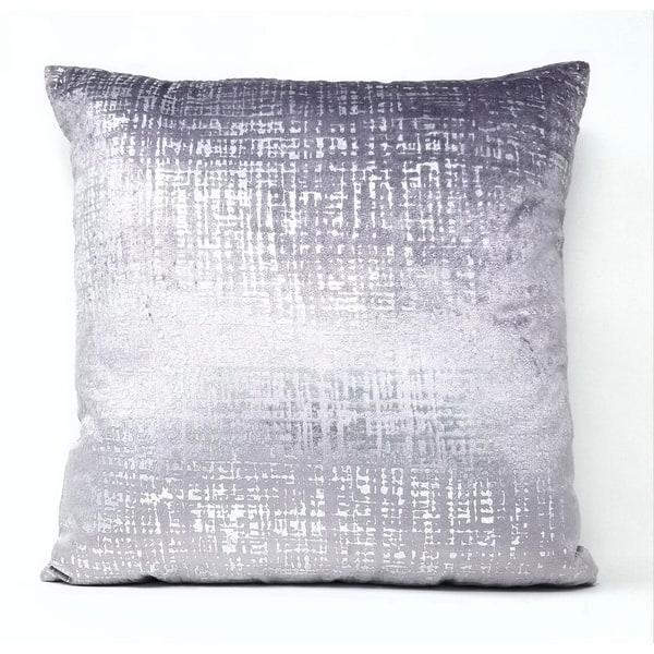 16 By 16 Pillow.Princess Pillows 16 X 16 Lavender Silver Sofa Accent Throw Pillow