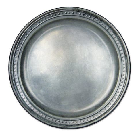 "Beistle 9"" Medieval Themed Pewter Paper Party Plates - 12 Pack (8/Pkg)"