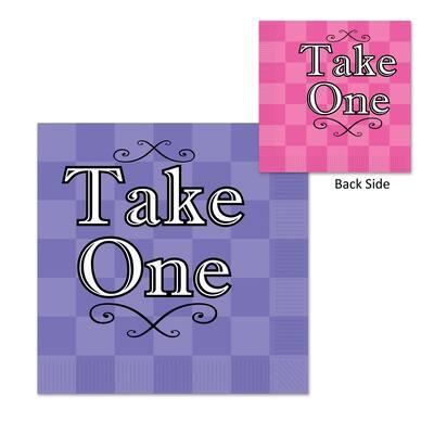 Beistle 2-Ply Alice in Wonderland Luncheon Napkins - 12 Pack (16/Pkg)