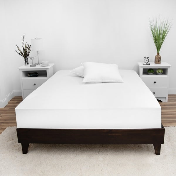 SwissLux Complete Mattress Encasement with Bed Bug Protection - White