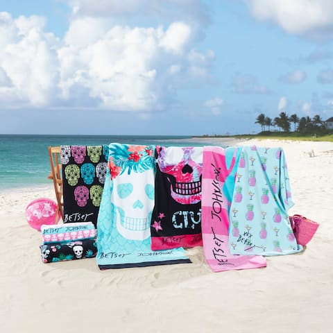 Betsey Johnson 2-Piece Beach Towel Sets