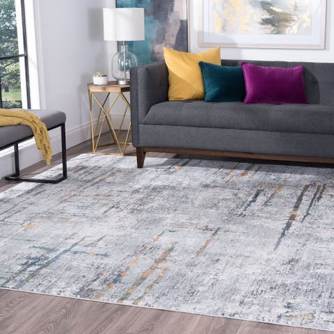 Porch & Den Fairoaks Contemporary Abstract Area Rug