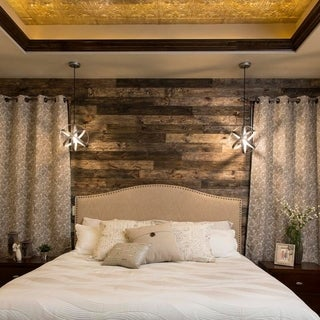Link to Rustic Grove Wood Planks (14 sq ft) Similar Items in Wall Coverings