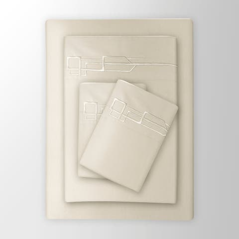Hotel De Fitzgerald 800 Thread Count Luxury Sheet Set Cream