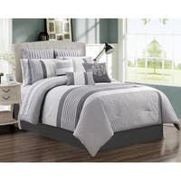 Comforter Set 7 Piece Wov Queen Kane