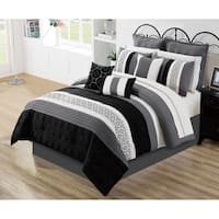 Comforter Set 7 Piece Wov Full Maddox