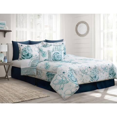 Comforter 7 Piece Set King Azura