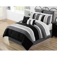 Comforter Set 7 Piece Wov Queen Maddox