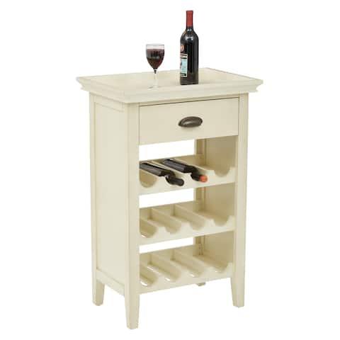 OSP Home Furnishings Portofino Wine Cabinet