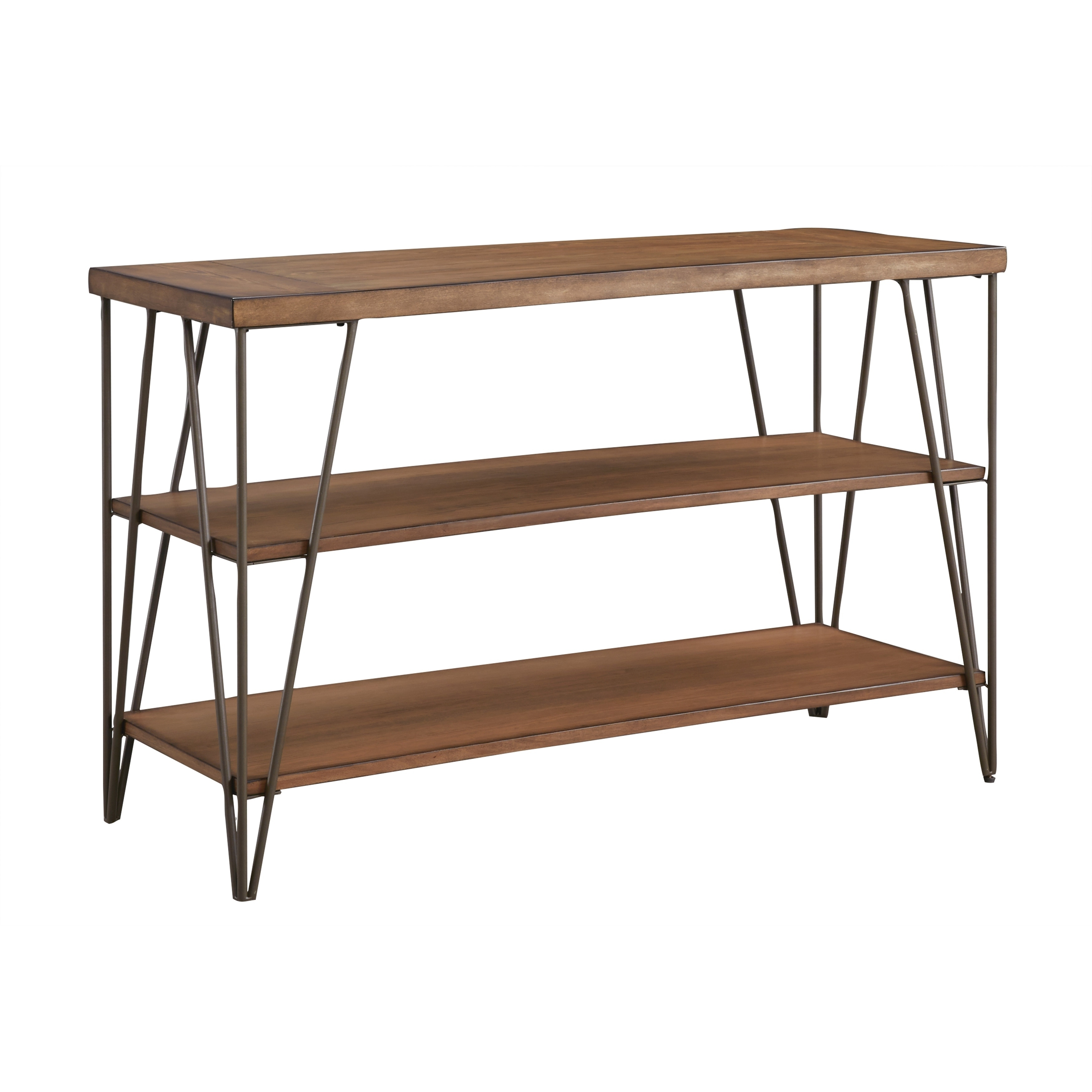 Standard Furniture Bedford Console Table, Rustic Pine