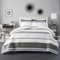 Perry Ellis Rowan Stripe Comforter Set