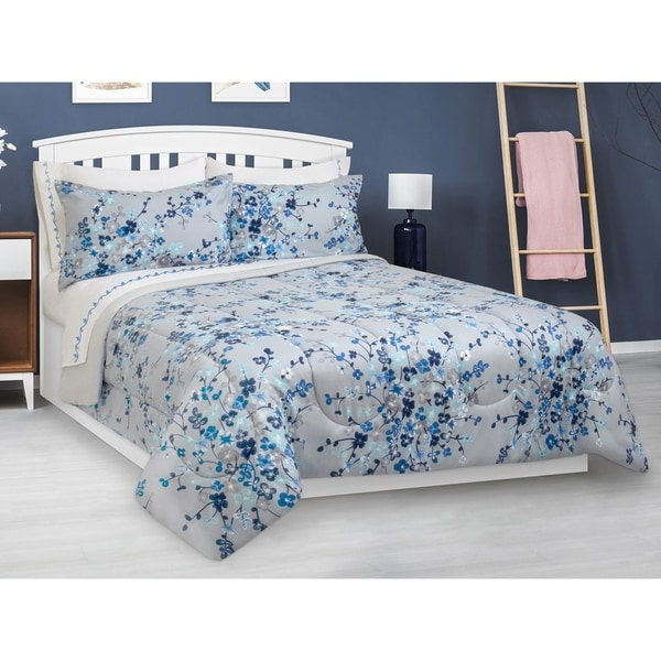 Comforter Set 2 Piece Twin Floral