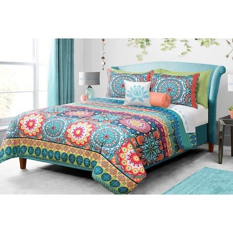 Comforter 3 Piece Full-Queen Mandala