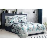 Comforter Set 3 Piece Full-Queen Mosaic