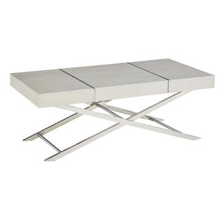 Standard Furniture Ava Silver Coffee Table