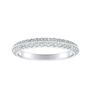 Link to Auriya 1/2ctw Stackable Diamond Wedding Band Platinum Similar Items in Wedding Rings